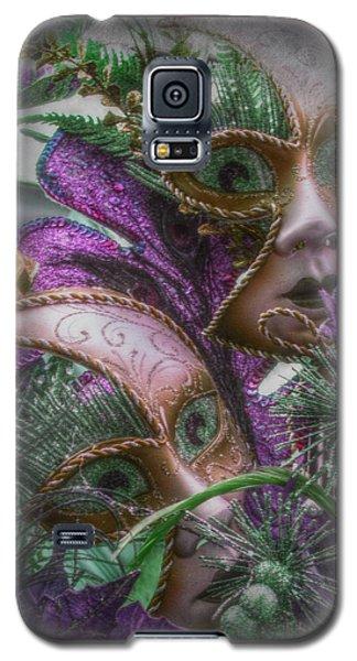 Purple Twins Galaxy S5 Case by Amanda Eberly-Kudamik