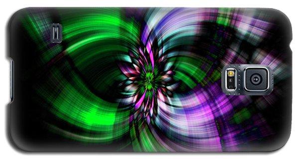 Purple Twirl Galaxy S5 Case