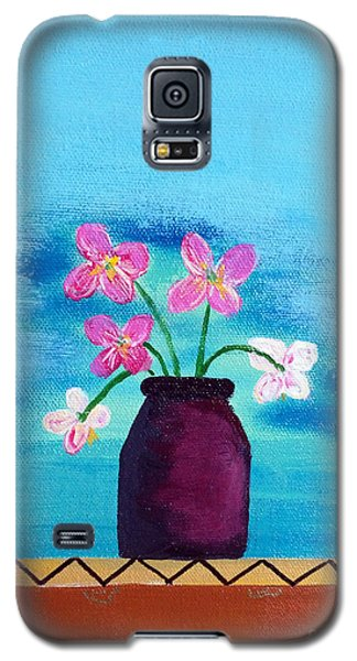 Purple Vase Galaxy S5 Case