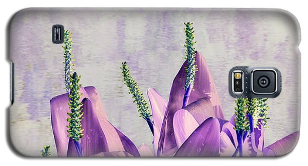 Purple Water Plant Galaxy S5 Case