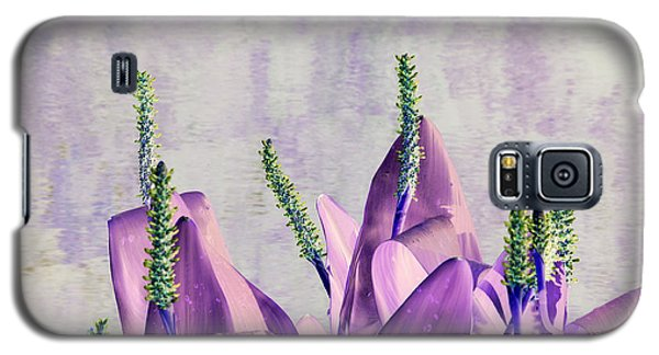 Purple Water Plant Galaxy S5 Case