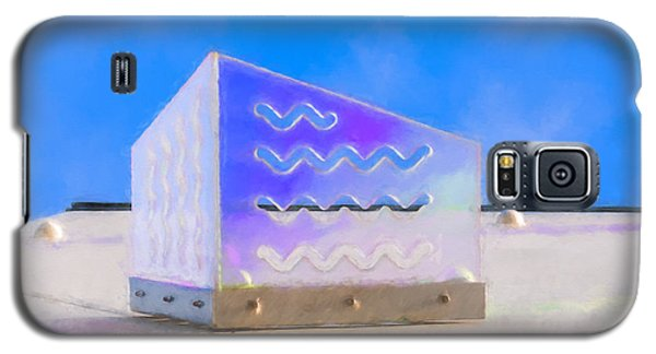 Purple Waves Galaxy S5 Case
