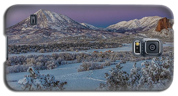 Purple Winter  Galaxy S5 Case