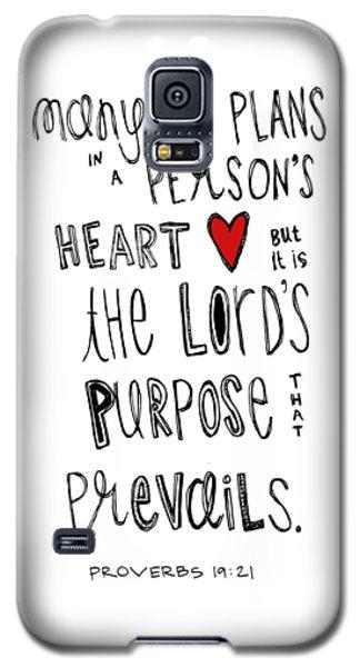 Purpose Galaxy S5 Case