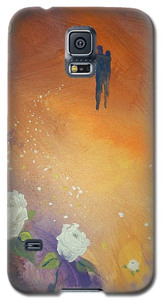 Galaxy S5 Case featuring the painting Purpose by Raymond Doward
