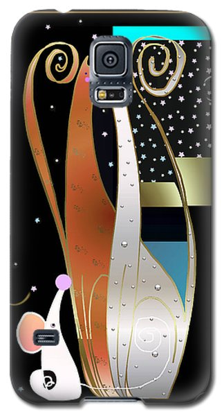 Purry Purry Night Galaxy S5 Case
