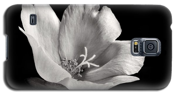 Galaxy S5 Case featuring the photograph Purslane In Monochrome by David and Carol Kelly
