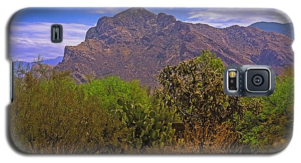 Galaxy S5 Case featuring the photograph Pusch Ridge Morning H10 by Mark Myhaver