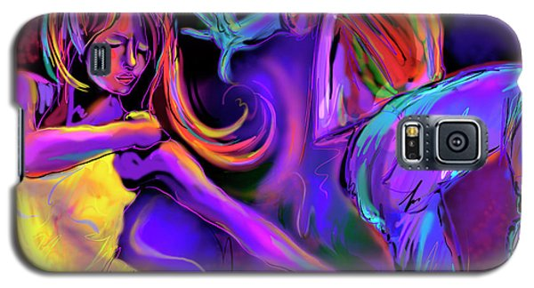Put On Your Red Shoes And Dance Galaxy S5 Case by DC Langer