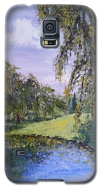 Putting Green Pond Galaxy S5 Case