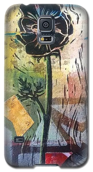 Puzzled Floral Galaxy S5 Case by Cynthia Lagoudakis