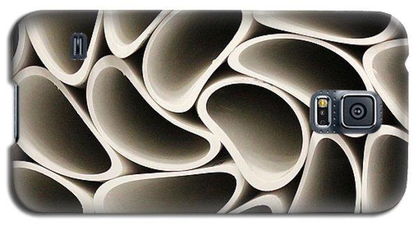 Pvc Pipe Twirl Galaxy S5 Case