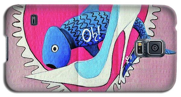 Devoted Fish Galaxy S5 Case by Don Pedro De Gracia