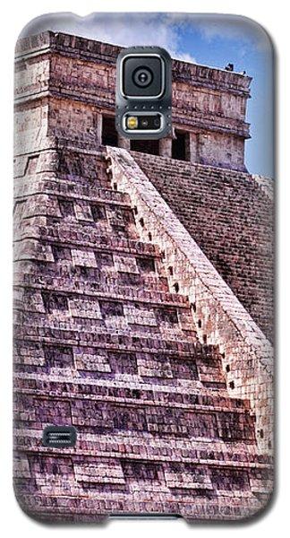 Pyramid Of Kukulcan At Chichen Itza Galaxy S5 Case