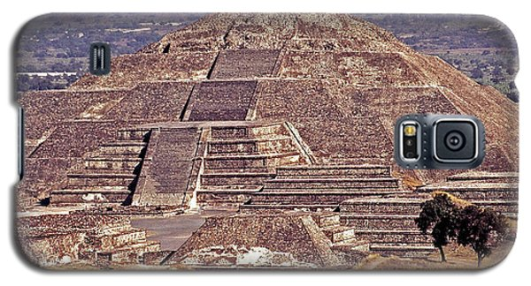 Pyramid Of The Sun - Teotihuacan Galaxy S5 Case