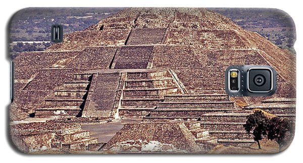 Pyramid Of The Sun - Teotihuacan Galaxy S5 Case