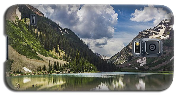 Pyramid Peak, Maroon Bells, And Crater Lake Panorama Galaxy S5 Case