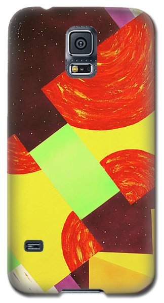 Pyramids And Pepperoni Galaxy S5 Case