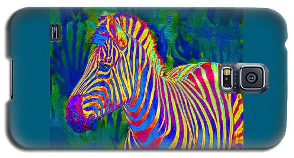 Pyschedelic Zebra Galaxy S5 Case