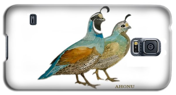 Quail Pair Galaxy S5 Case