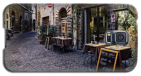 Quaint Cobblestones Streets In Rome, Italy Galaxy S5 Case