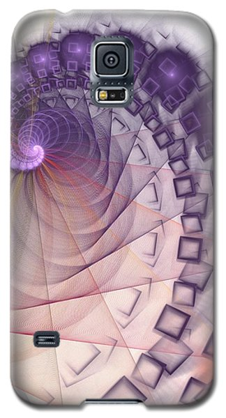 Galaxy S5 Case featuring the digital art Quantum Gravity by Anastasiya Malakhova