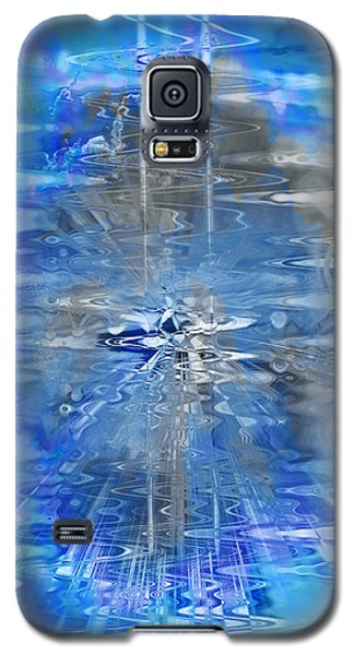 Galaxy S5 Case featuring the photograph Quantum Reflections by Kellice Swaggerty