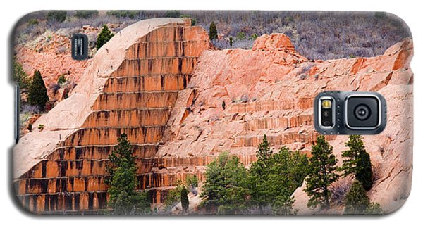Quarry Closup At Red Rock Canyon Colorado Springs Galaxy S5 Case