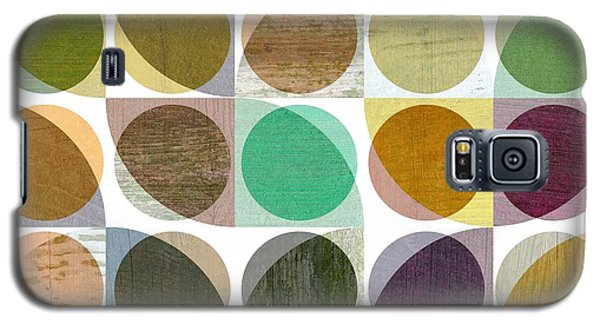 Quarter Circles Layer Project One Galaxy S5 Case by Michelle Calkins