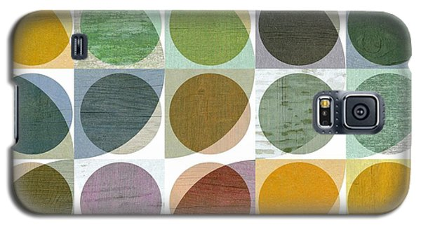 Quarter Circles Layer Project Two Galaxy S5 Case by Michelle Calkins