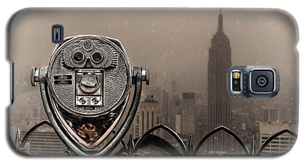 Galaxy S5 Case featuring the photograph Quarters Only by Chris Lord