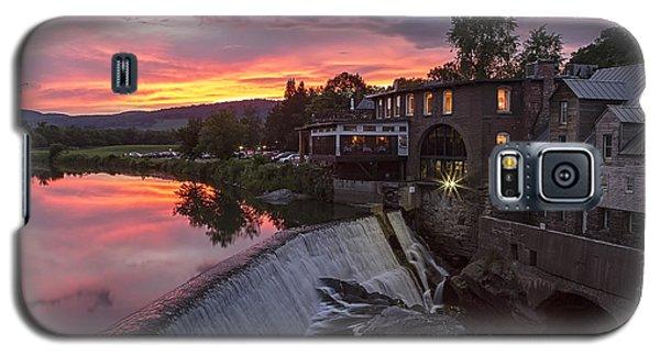 Quechee Vermont Sunset Galaxy S5 Case