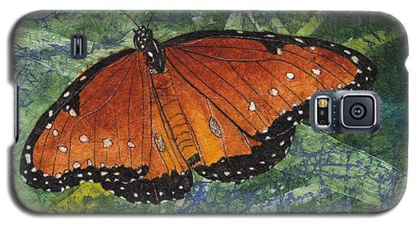 Queen Butterfly Watercolor Batik Galaxy S5 Case