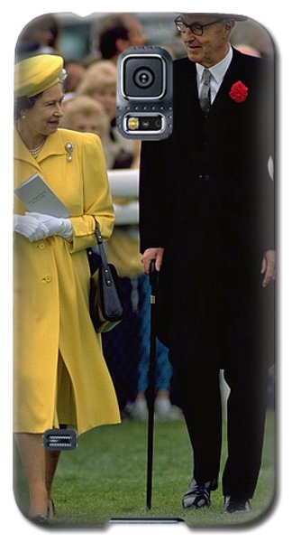 Queen Elizabeth Inspects The Horses Galaxy S5 Case