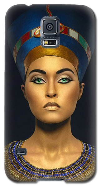 Queen Esther Galaxy S5 Case by Karen Showell