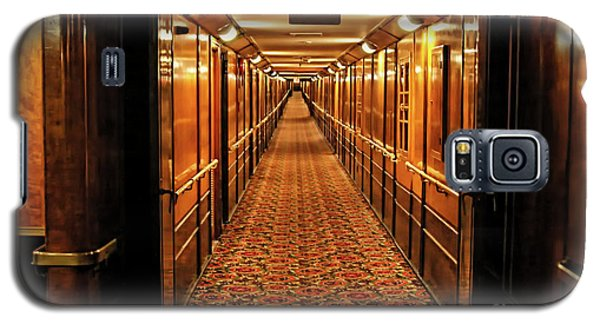 Galaxy S5 Case featuring the photograph Queen Mary Hallway by Mariola Bitner