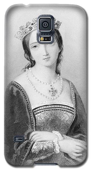 Queen Mary I, Aka Mary Tudor, Byname Galaxy S5 Case by Vintage Design Pics