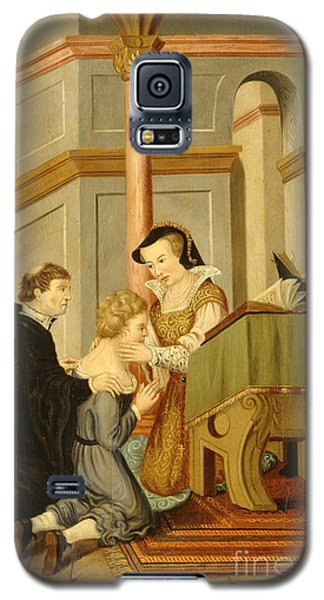 Queen Mary I Curing Subject With Royal Galaxy S5 Case