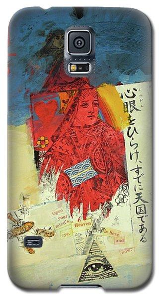 Queen Of Hearts 40-52 Galaxy S5 Case
