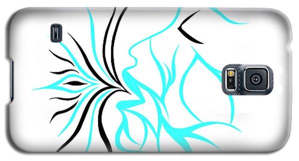 Queen Of Hearts Galaxy S5 Case by Jamie Lynn
