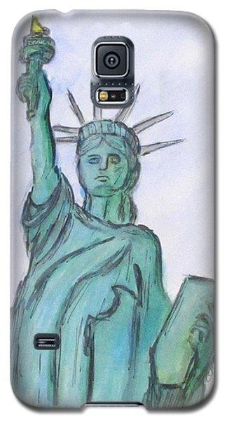 Queen Of Liberty Galaxy S5 Case