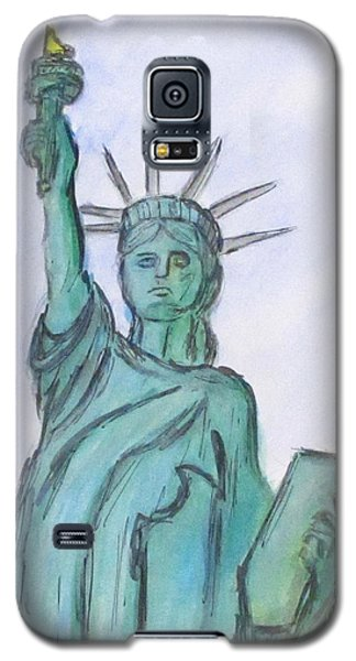 Queen Of Liberty Galaxy S5 Case