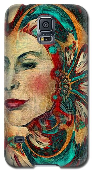 Galaxy S5 Case featuring the digital art Queenie by Alexis Rotella