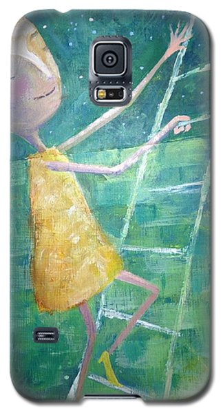 Galaxy S5 Case featuring the painting Queens Climb Higher by Eleatta Diver