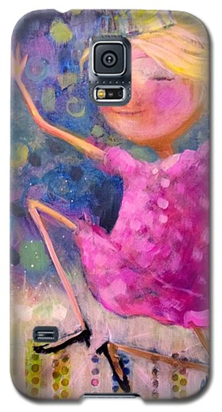 Galaxy S5 Case featuring the painting Queens Should Dance by Eleatta Diver