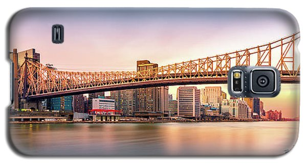 Queensboro Bridge At Sunset Galaxy S5 Case