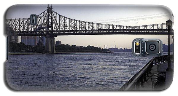 Queensboro Bridge - Manhattan Galaxy S5 Case by Madeline Ellis