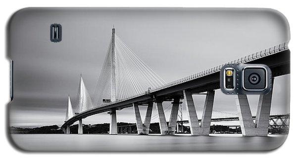 Queensferry Crossing Bridge Mono Galaxy S5 Case