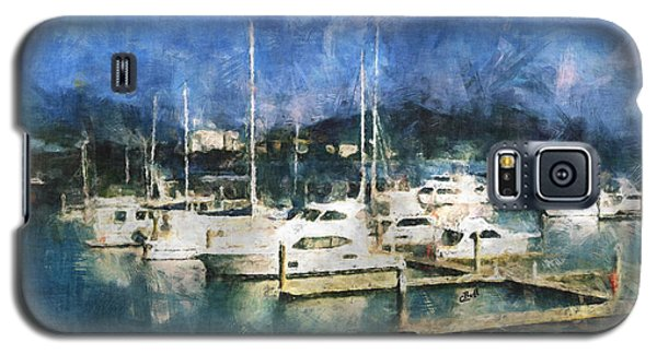 Galaxy S5 Case featuring the photograph Queensland Marina by Claire Bull