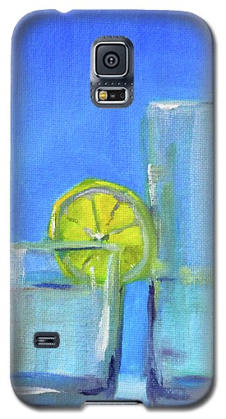 Galaxy S5 Case featuring the painting Quench by Nancy Merkle